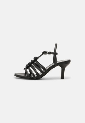 COMFORT LEATHER - Sandals - black