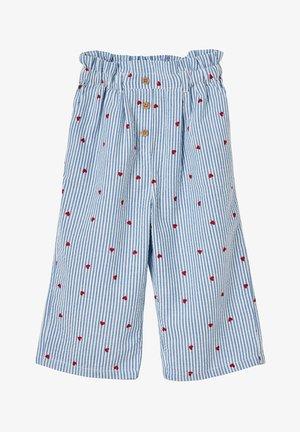 Trousers - blau gestreift