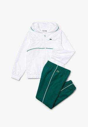 Tracksuit - blanc / vert / blanc / noir