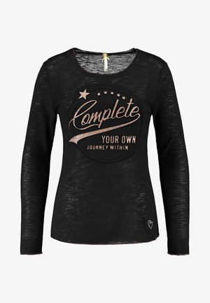 WLS OWN ROUND - Long sleeved top - black