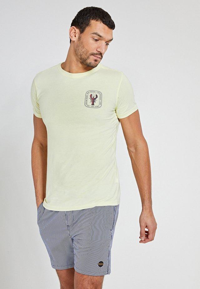 LOBSTER - T-shirt imprimé - miami lemon