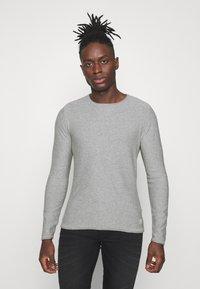 Blend - Stickad tröja - grey - 0