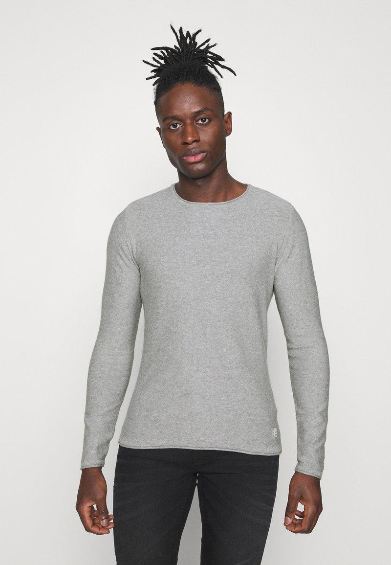 Blend - Stickad tröja - grey