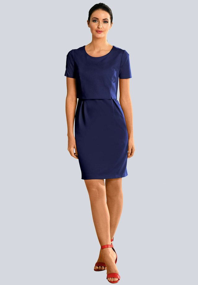 Shift dress - marineblau