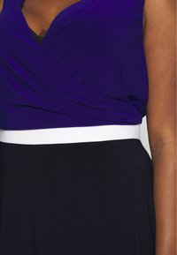 Lauren Ralph Lauren Woman - DAVIE SLEEVELESS-DAY DRESS - Shift dress - navy/white/cannes blue - 4
