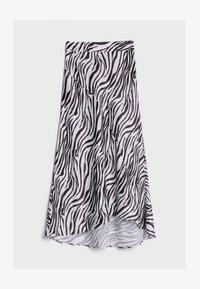Bershka - Wrap skirt - black - 4
