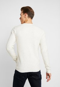 TOM TAILOR - COSY NEP SWEATER - Jumper - offwhite - 2