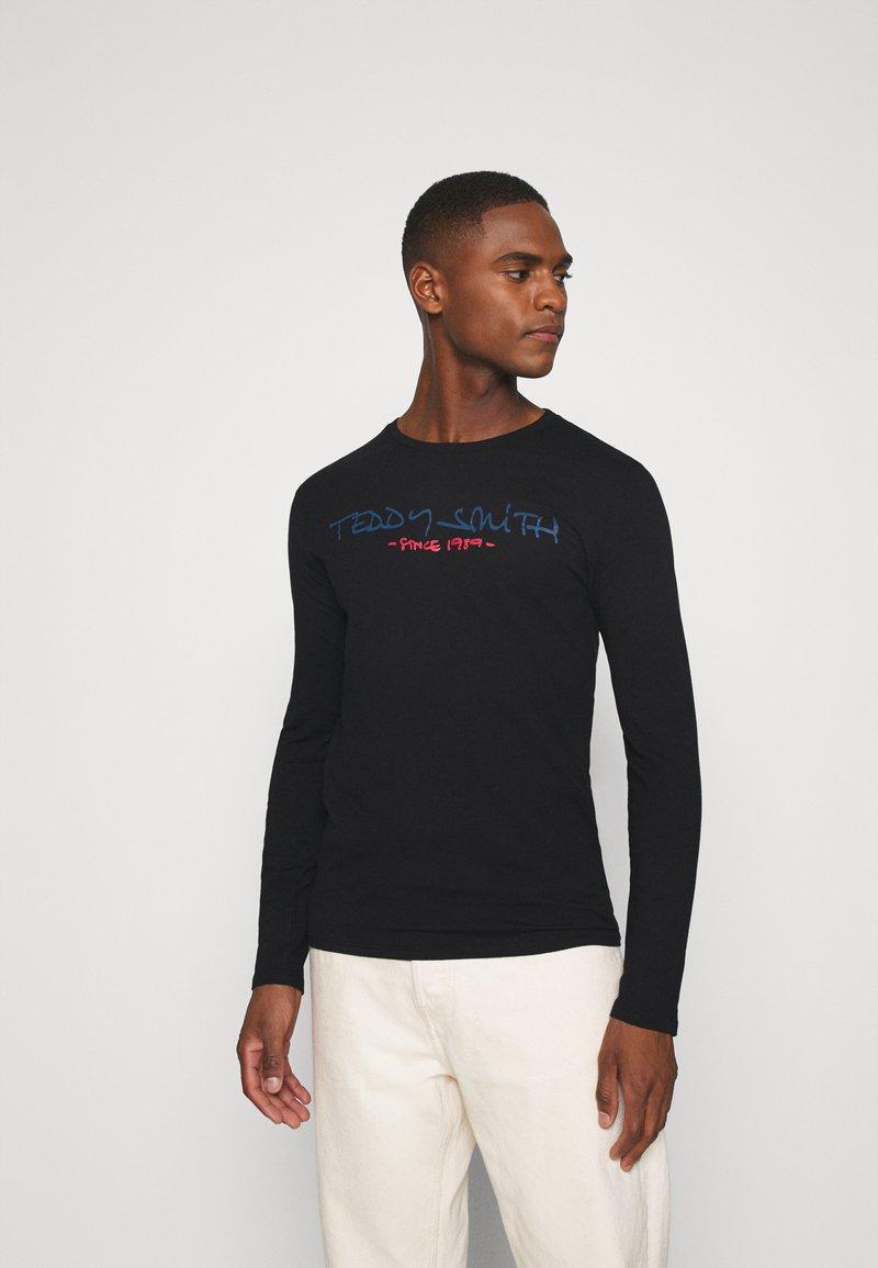 Teddy Smith - CLASS BASIC - T-shirt à manches longues - noir