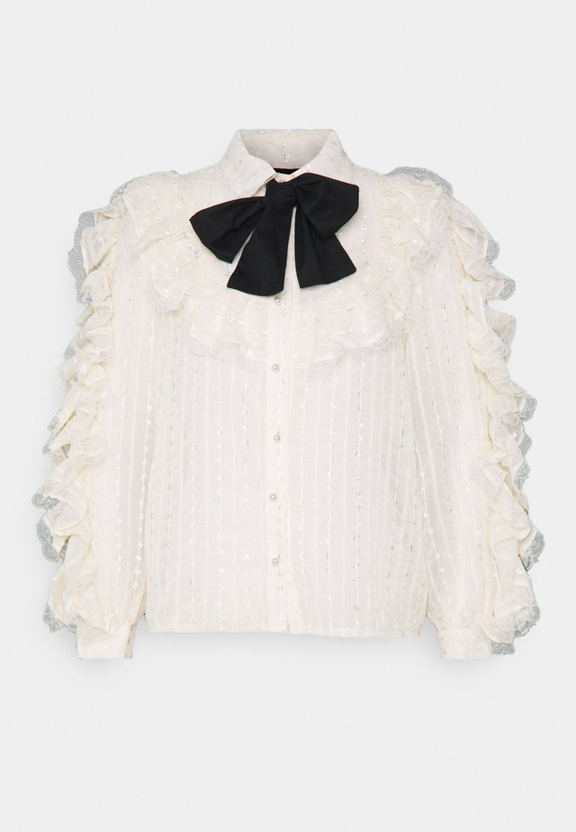 SWEETEST RUFFLE - Blouse - ivory