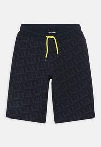 BOSS Kidswear - BERMUDA - Teplákové kalhoty - navy - 0