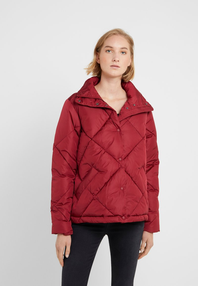 Save the duck - MEGGA - Winter jacket - mineral red