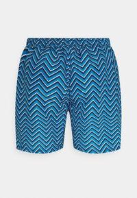 Jack & Jones - JJIBALI JJSWIMSHORTS STRIPE - Swimming shorts - french blue - 1