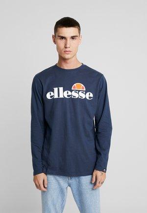 GRAZIE - T-shirt à manches longues - navy