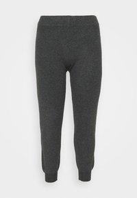 Pieces Curve - PCSALSA PANTS - Tracksuit bottoms - dark grey melange - 3