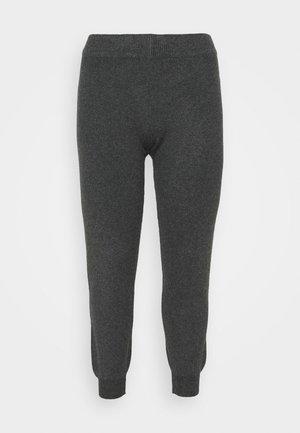PCSALSA PANTS - Tracksuit bottoms - dark grey melange