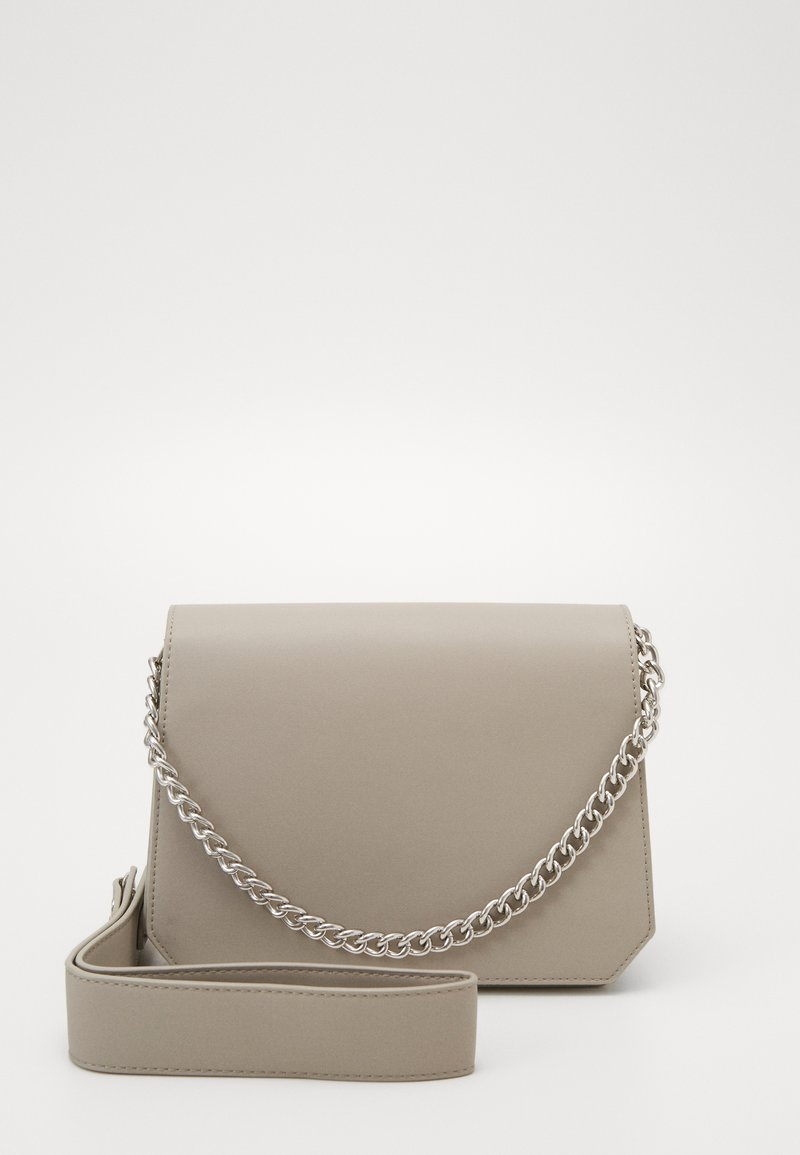 Pieces - PCGLAM CROSS BODY D2D - Handbag - whitecap gray