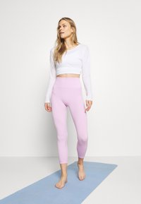 Nike Performance - SEAMLESS 7/8 - Leggings - light arctic pink/white - 1