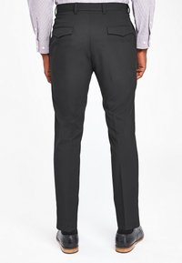 Next - Pantaloni eleganti - metallic black