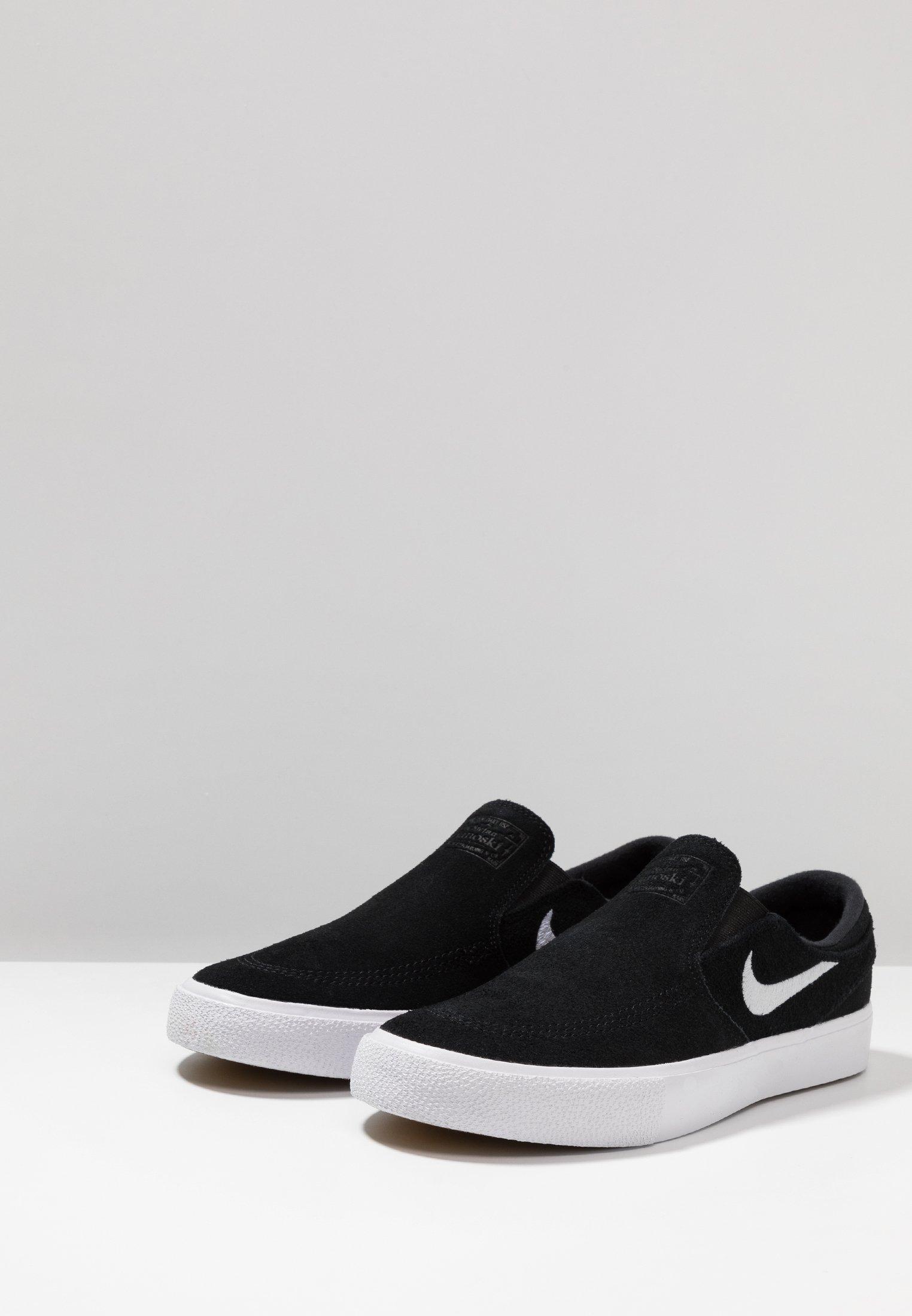 Scarpe da donna Nike SB ZOOM JANOSKI Scarpe senza lacci black/white
