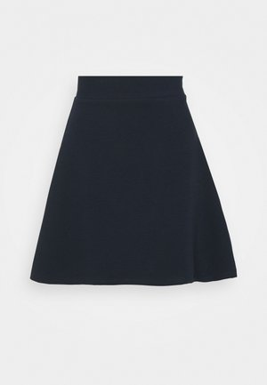 STRUCTURED SKATER SKIRT - A-line skirt - sky captain blue