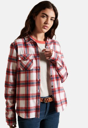 LUMBERJACK - Button-down blouse - red