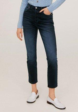 GISELE - Slim fit jeans - intense dark blue