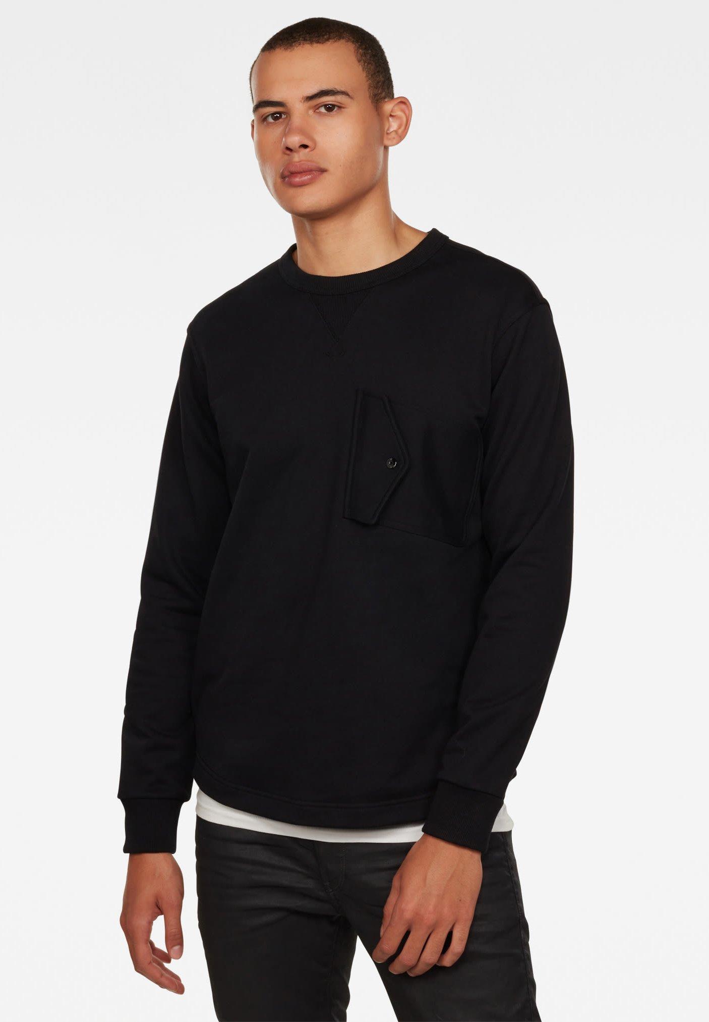 Homme CHEST ROUND PKT LONG SLEEVE - Sweatshirt