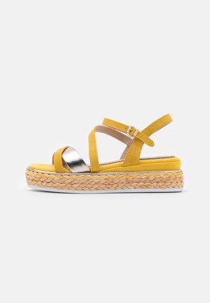 BY GUIDO MARIA KRETSCHMER - Platform sandals - yellow