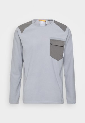 INNOMINATA LIGHT CREW NECK MEN - Sweat polaire - granit
