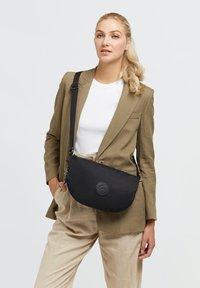 Kipling - EMELIA - Across body bag - rich black - 0
