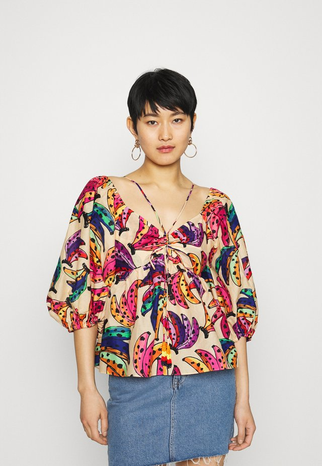 BANANA BUNCH BLOUSE - Blůza - multi
