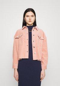 ONLY - ONLMARINA BITTEN LIFE - Summer jacket - misty rose - 0