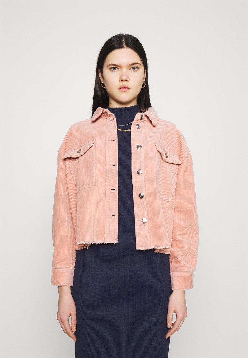 ONLY - ONLMARINA BITTEN LIFE - Summer jacket - misty rose