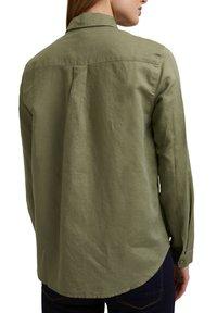 Esprit - CORE - Button-down blouse - light khaki - 4
