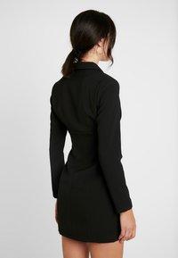 4th & Reckless - PIMLICO - Robe chemise - black - 3