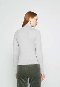 Cotton On - MILA MOCK NECK LONG SLEEVE - Long sleeved top - silver marle - 2