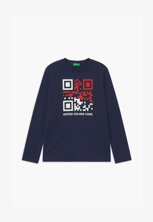 FUNZIONE BOY - Long sleeved top - dark blue