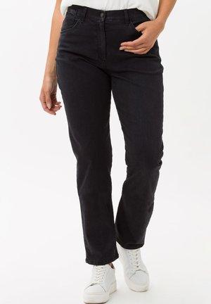 STYLE CORRY SLASH - Slim fit jeans - black