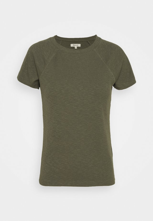 TIGGER TEE SOLID - T-Shirt basic - capers