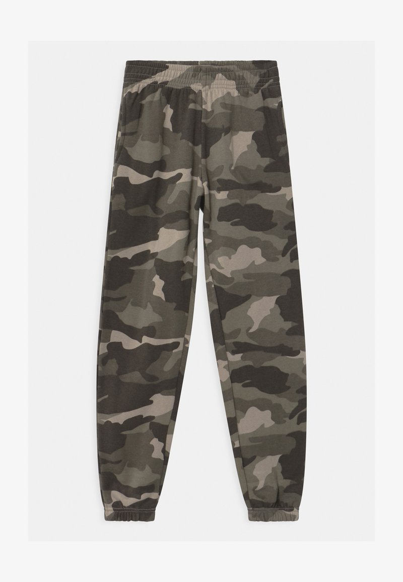 New Look 915 Generation - CAMO CUFFED - Tracksuit bottoms - green
