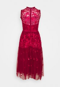 STUDIO ID - EMBROIDED DRESS - Cocktail dress / Party dress - red - 1