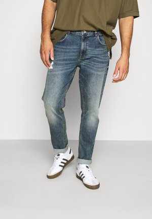 GENEVE DESTROY - Straight leg jeans - hola blue
