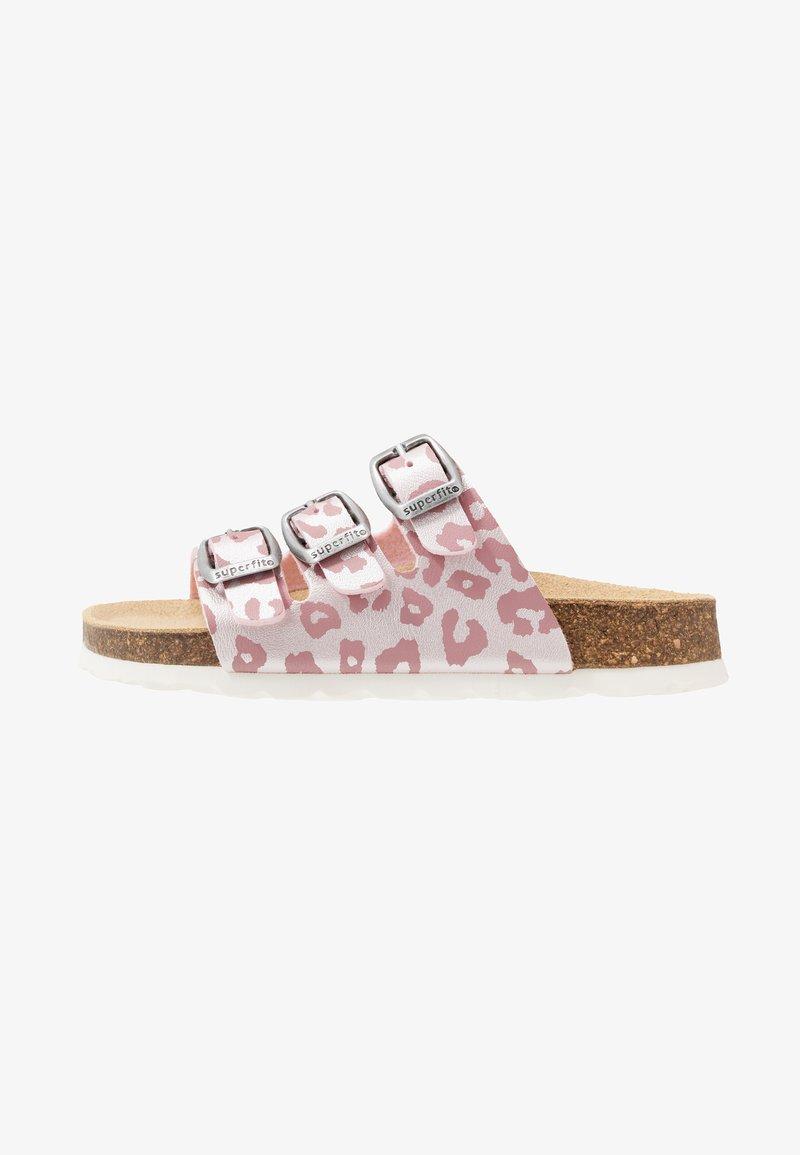 Superfit - FUSSBETTPANTOFFEL - Pantoffels - pink