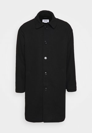 DARYL STRUCTURED COAT - Classic coat - black