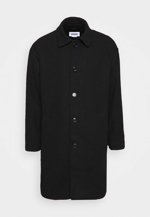 DARYL STRUCTURED COAT - Classic coat - black