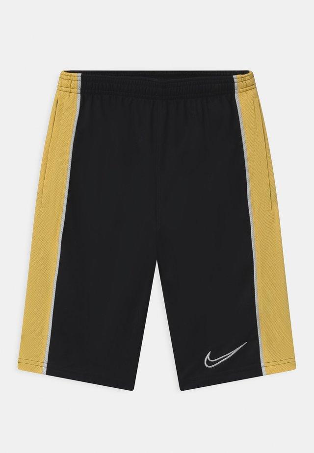 UNISEX - Pantaloncini sportivi - black/saturn gold/white