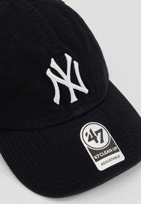 '47 - NEW YORK YANKEES CLEAN UP UNISEX - Gorra - black/white - 6