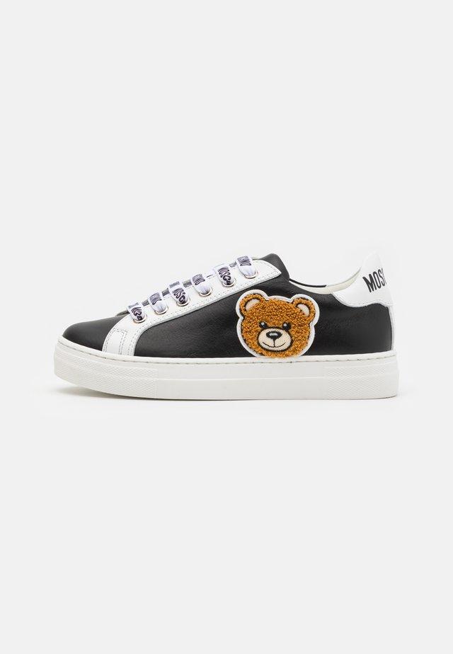 UNISEX - Sneakers laag - black/white