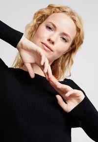 Love Copenhagen - MARYL DRESS - Jumper dress - pitch black - 3