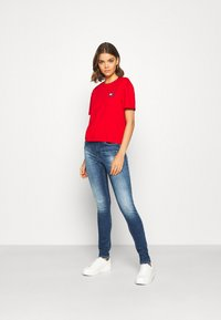 Tommy Jeans - NORA - Jeans Skinny Fit - mid blue - 1